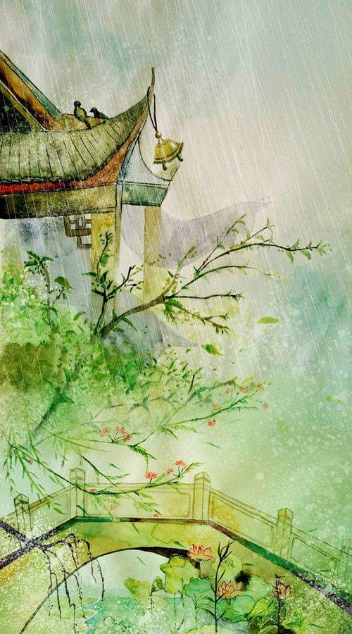「 潇梦璃 」. 关山风雨.「 龙轩静」