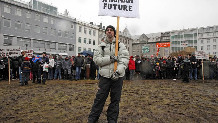 Ganará en Islandia el Partido Pirata? Romper con éxito las 'lecciones' de la crisis