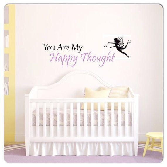 Nursery Decor Peter Pan Disney Quotes Disney Nursery