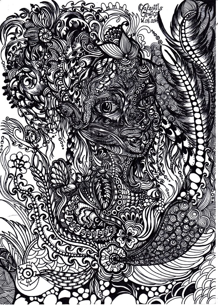27 Best images about zentangle