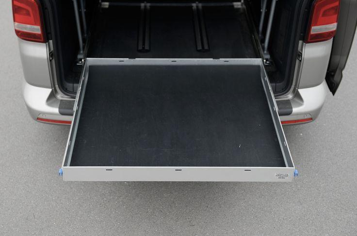 CaliXtension BEACH XL - calisolar.ch VW California Solaranlage, Heckauszüge und mehr