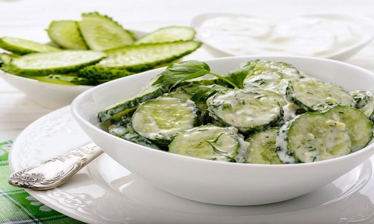 Envie de tester une salade de concombres facile et délicieuse ce soir...