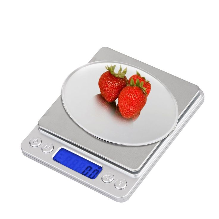 Idaodan 0.01Oz/0.1G 3000G Digital Food Scale Gram Scale Digital Pocket Scale,