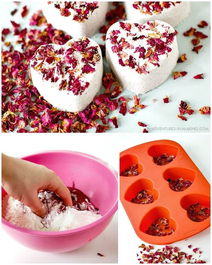 DIY Bath Bombs – 101 Simple DIY Bath Bomb Recipes  – Handwerk&Crafts