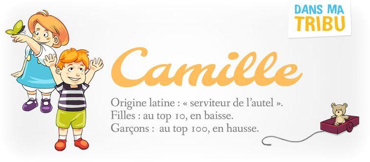 Camille, un prénom mixte qui fait des ravages (Signification et histoire)