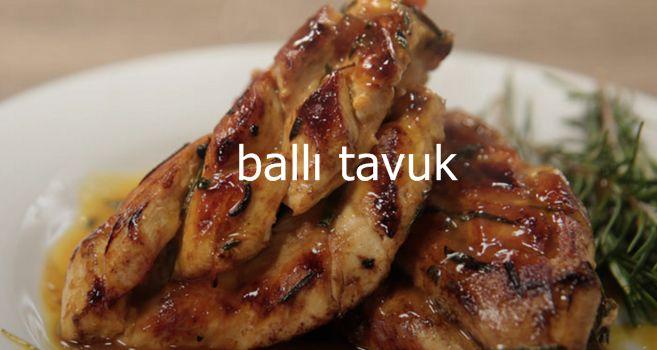 Konuklarınıza çok özel bir tavuk yemeği ikram etmek istiyorsanız ballı tavuk aradığınız tarif olabilir. Ballı tavuk gerçekten muhteşem bir lezzet. Yemeye doyamayacağınız bu yemeği konuklarınıza sunarken kendinizle gurur duyacaksınız. Oldukça da şık bir görünümü olan ballı tavuk lüks ve özel sofraların vazgeçilmezi. #yemektarifleri #etyemeğitarifleri #yemektarifleri #kektarifleri #pastatarifleri