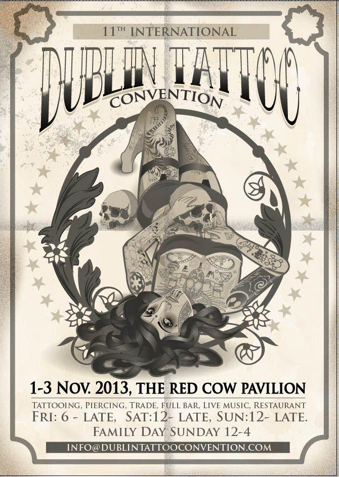 Dublin Tattoo Convention 2013