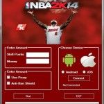 Download free online Game Hack Cheats Tool Facebook Or Mobile Games key or generator for programs all for free download just get on the Mirror links,NBA 2k14 Hack Tool Free Download The Game Info: NBA 2K14 is the latest installment of the world's biggest and best NBA video game franchise.