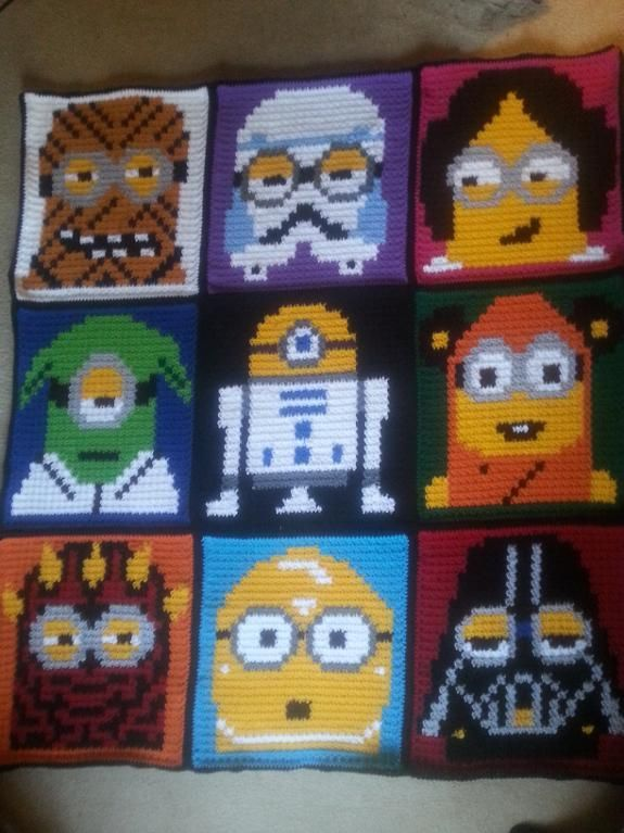 (4) Name: 'Crocheting : Star Wars Minions