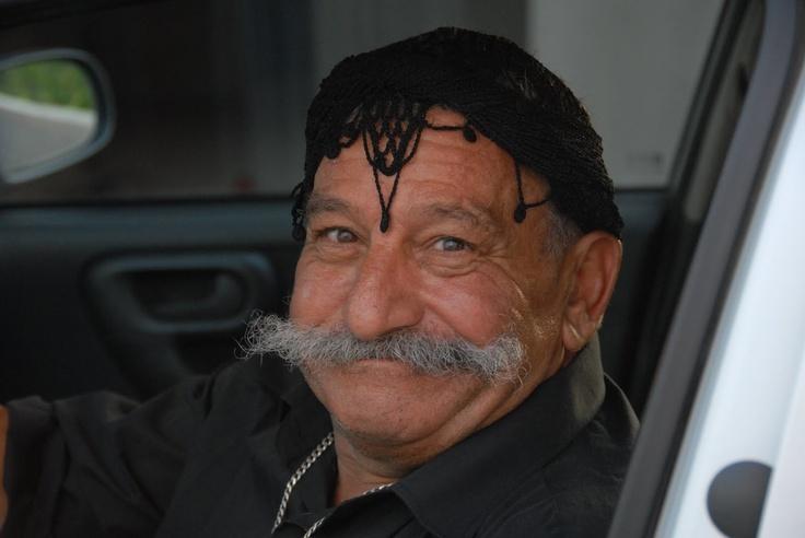 Cretan head scarf
