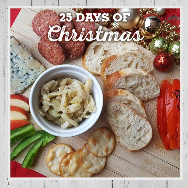 An antipasto platter is the perfect addition to your next casual get-together. Tasty & so easy! #fb25daysofchristmas http://bit.ly/2gYxWhy