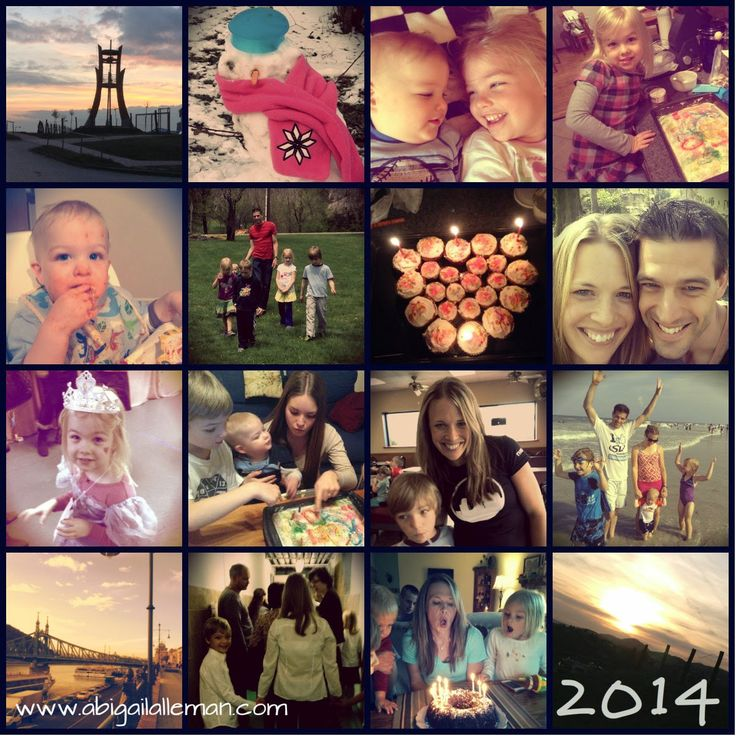 Abigail Alleman : What I Learned in 2014