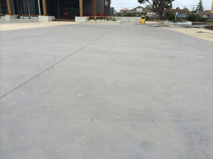 Go Cleaning are specialists in large concrete cleaning jobs! (This is a school with 5000 square meters, all with hot water blasting and gum removal.)