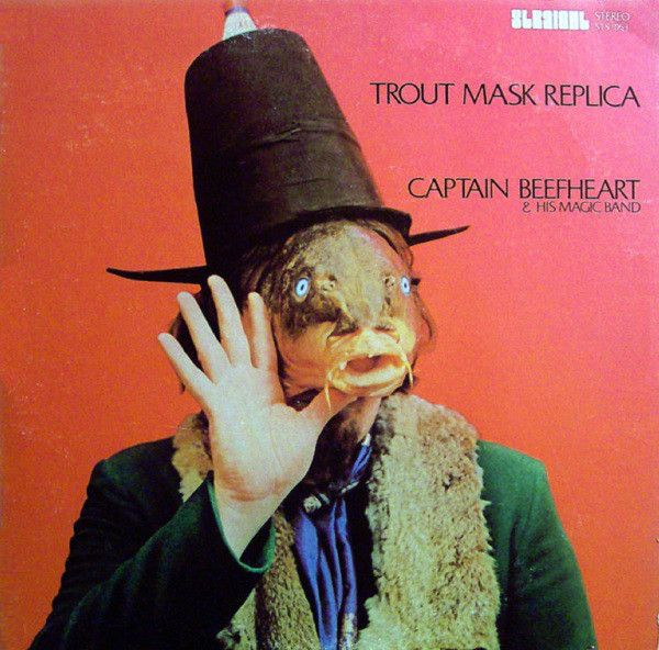 Image result for Captain Beefheart & His Magic Band     Trout Mask Replica