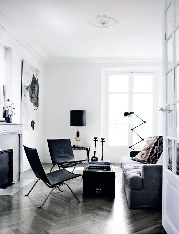 facing north with gracia: Danish apartment in Cannes
