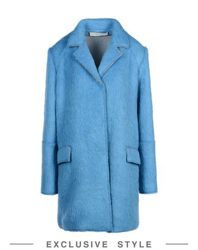 Sale Ebay Cheap Sale Best Prices Marni Woman Cotton Jacket Sky Blue Size 48 Marni USFWge