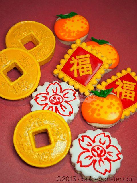 Mini Chinese New year custom cookies   Flickr - Photo Sharing!