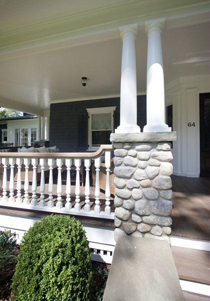 Stone Column Base : Best images about porch railimgs on pinterest front