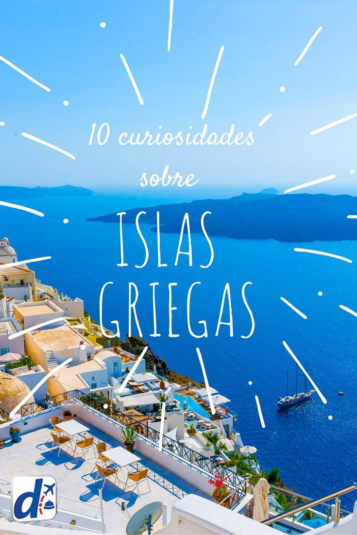 #Grecia tiene más de 2000 islas, ¿sabías? Encuentra las mejores curiosidades de este #destino aquI #DespeBlog