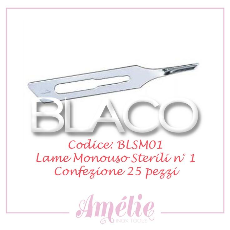 Amelie inox tools sgorbia box 25pz num. 1