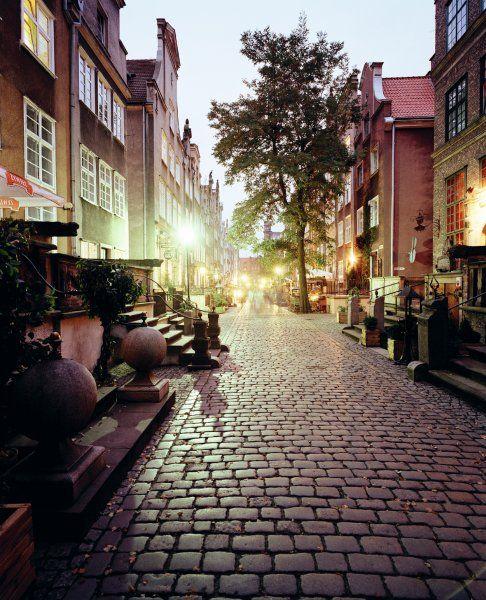 old town in #Gdansk, Poland #ilovegdn