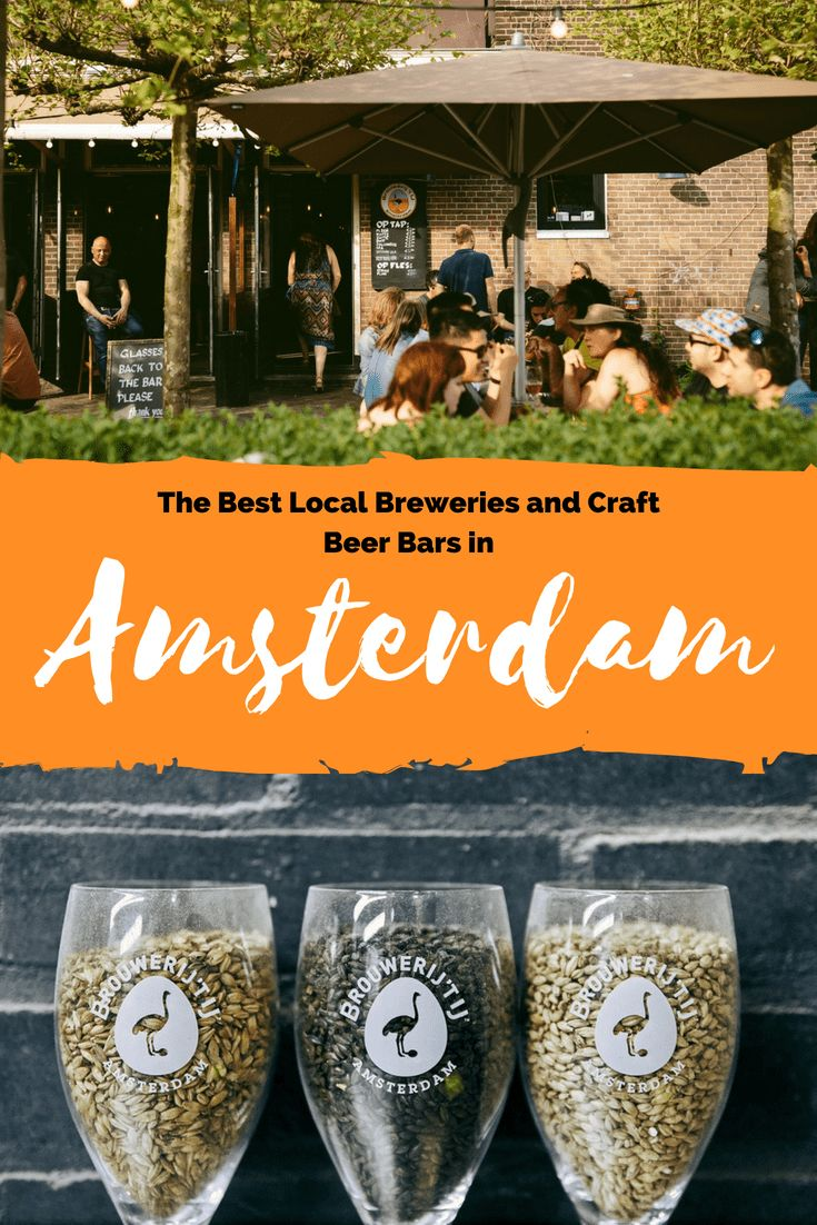 Amsterdam Craft Beer Guide: The Best Local Breweries and Craft Beer Bars Page % % Page