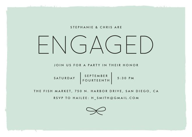 Knotted With Images Engagement Party Invitations Engagement Party Engagement Invitations