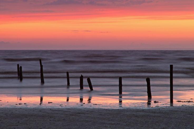 Sunset, Berrow Sands, Burnham-on-Sea, Somerset