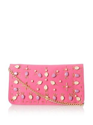 29% OFF Shiraleah Women's Mira Cross-Body Clutch, Pink