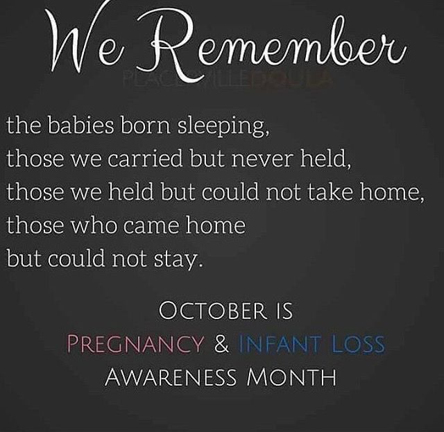 October is Pregnancy and Infant loss awareness month.  I've had 4 miscarriages and today it's officially official that we are done having children. Rather than feeling relief or peace I'm surprised at how difficult this is to accept. #miscarriage