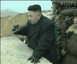 Funny GIF Of North Korea vs. Nuclear Bomb Testing ft. Kim Jong Un