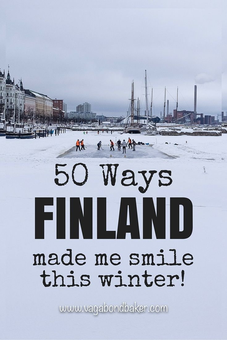 50 Ways Finland Made Me Smile This Winter: #28 Ice Hockey on the frozen harbour in Helsinki!