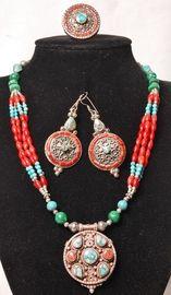 Set sieraden uit Nepal