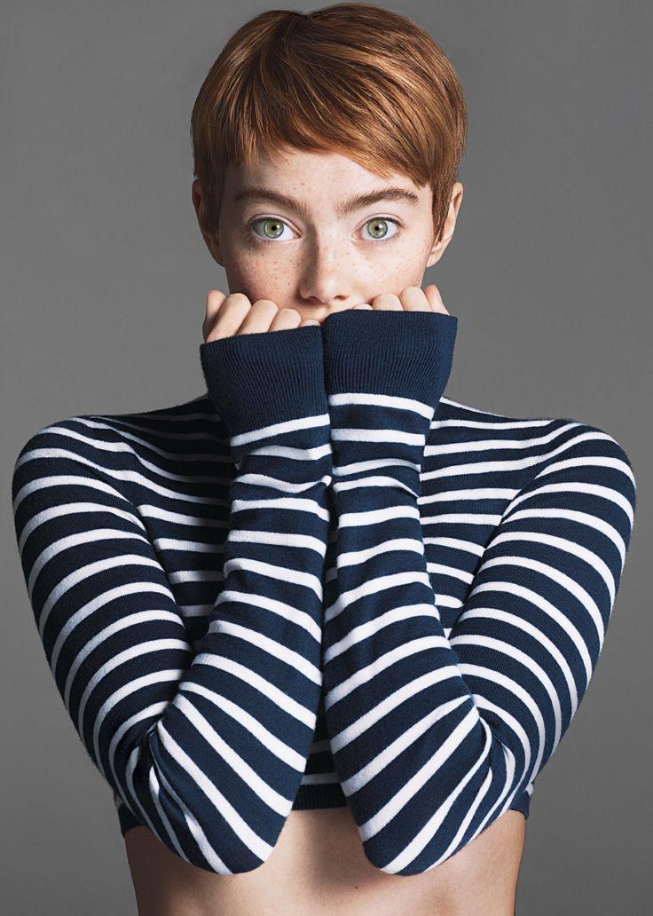 Emma Stone by Mert Alas & Marcus Piggott for Vogue Nov 2016