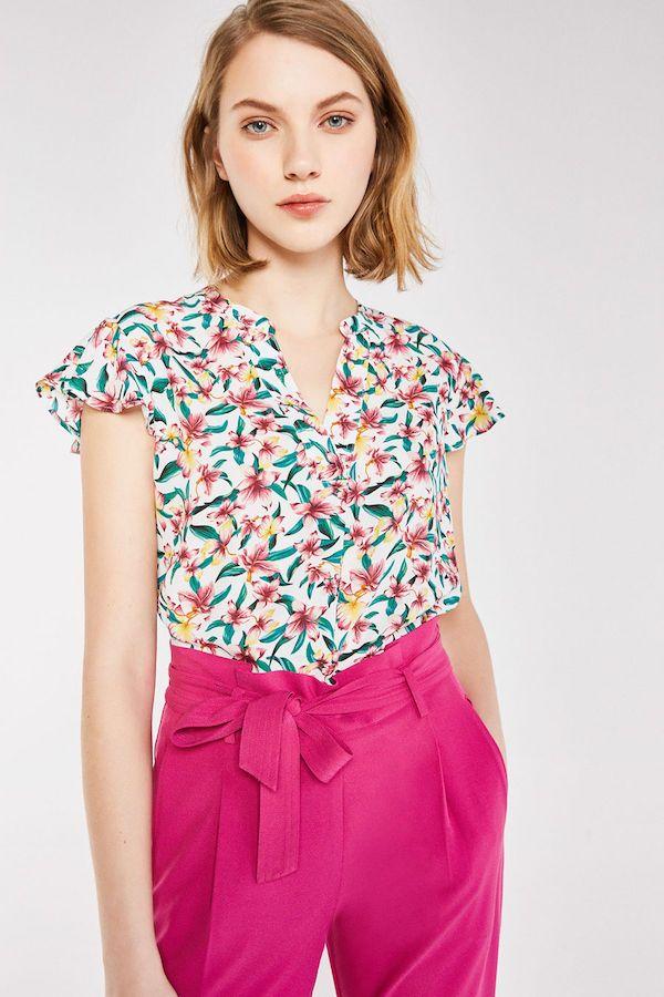 calidad y cantidad asegurada varios tipos de venta en línea Catálogo Cortefiel Primavera Verano 2018 pantalón rosa ...