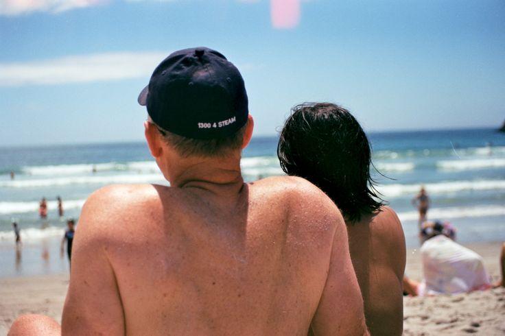 mom and dad at Tauranga