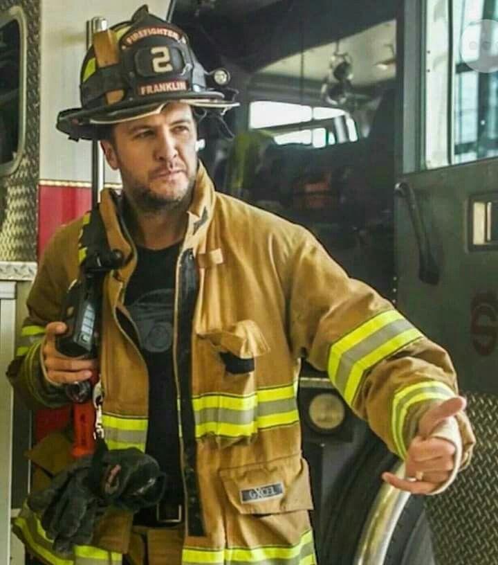 Luke Bryan as a fireman?! The ultimate fantasy!!!!