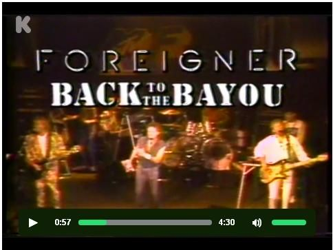 Foreigner at Bayou