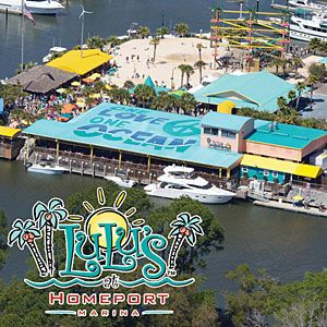 LuLu's at Homeport Marina & Restaurant (owned by Jimmy Buffet's sister) | Gulf Shores, Alabama