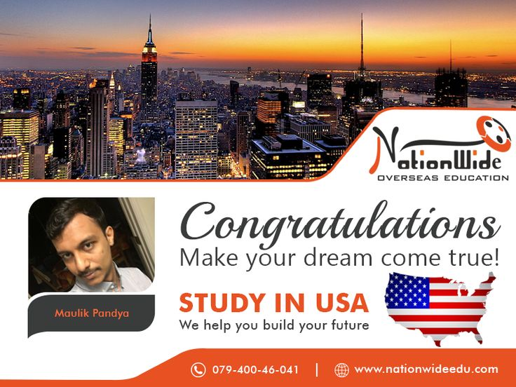 Congratulations Maulik Pandya for getting the student visa for United States!  All the best for new beginning in the USA. We Nation Wide Overseas Education feel an honor for providing the successful visa to him.  Visit: www.nationwideedu.com  #StudyInUSA #visaconsultant #NationWide