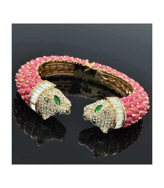 Miriam Stella Fashion Jewelry - Bracciale Tiger #miriamstella #fashionblogger #moda #fashion #madeinitaly #fashionjewelry #jewelry #jewels #tiger #bracelet