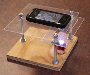 I've been meaning to make this. What fun! Wheeee!  $10 Smartphone to digital microscope conversion!