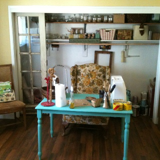 Canning/crafting room: Canning Crafting Room, Country Chic, Rooms