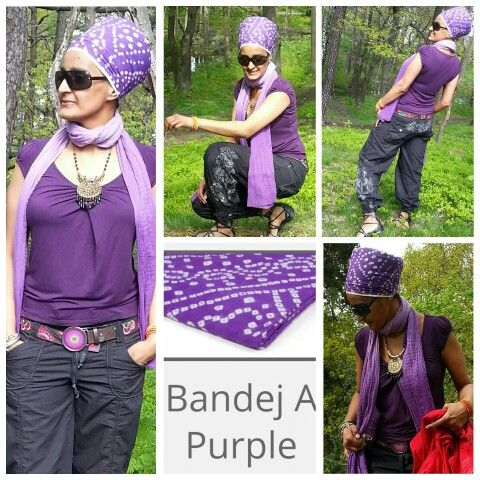 "Turban nr 4 - Bandej purple  from the gosikh.com collections  My second favourite color got to be purple...all shades of purple  especially this wild turban.  #turbanista #purpleturban  To save 10% on your entire order, please use coupon code ""TURBANCHIQ"", we will also donate another 10% to WFP, world food program."
