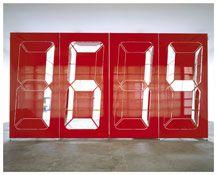 Darren Almond - Mono Chrono Pneumatic Red, 2007