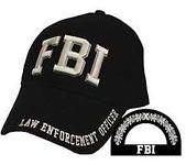 FBI Baseball Cap - Meach's Military Memorabilia & More