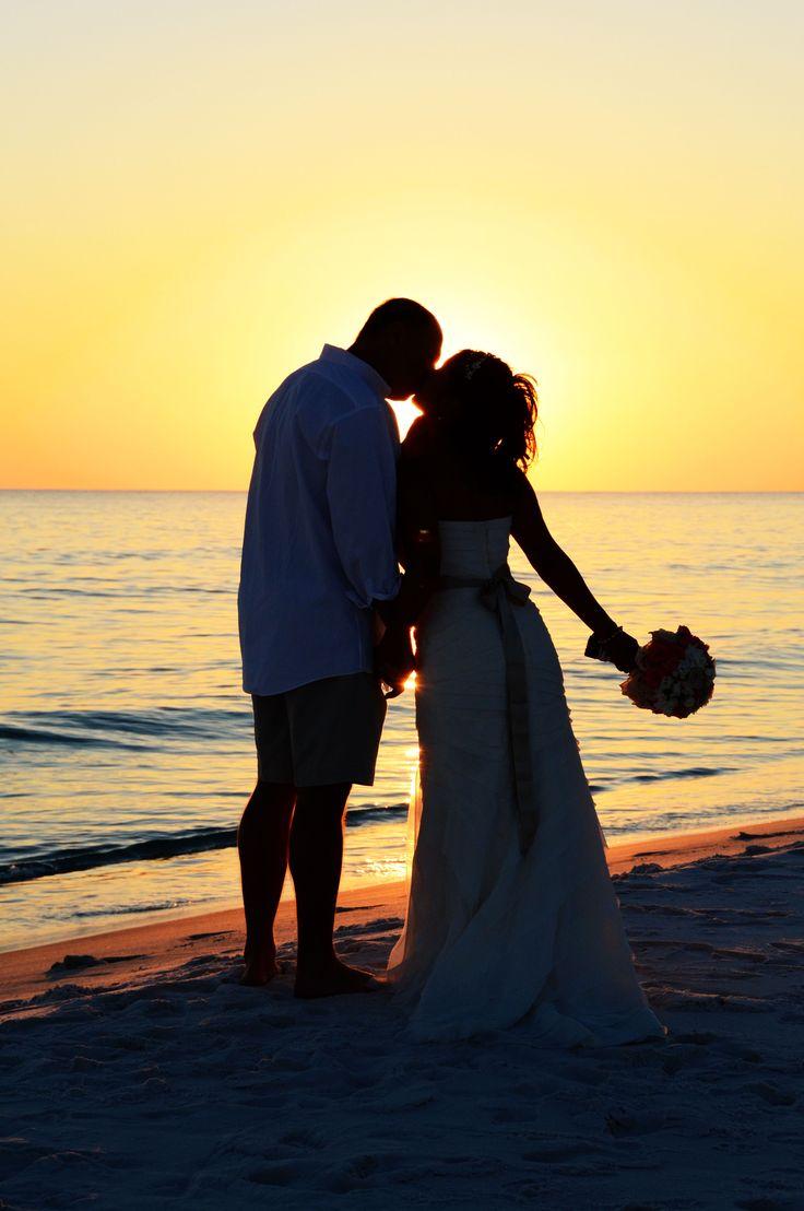 Beach weddings fort walton beach wedding packages sunset beach - Sunset On Seagrove Beach Northwest Florida Destination Beach Wedding Photo By Sunset Beach Weddings