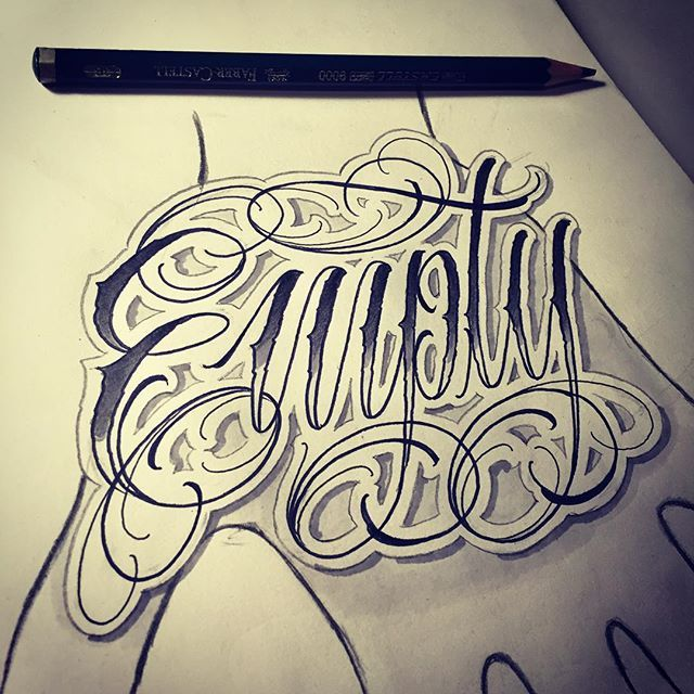 172 Best Lettering Images On Pinterest Lettering Tattoo