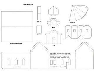 house templates from Martha Stewart