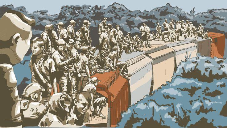 Pie de Página: Los primeros rieles de la migración a Estados Unidos